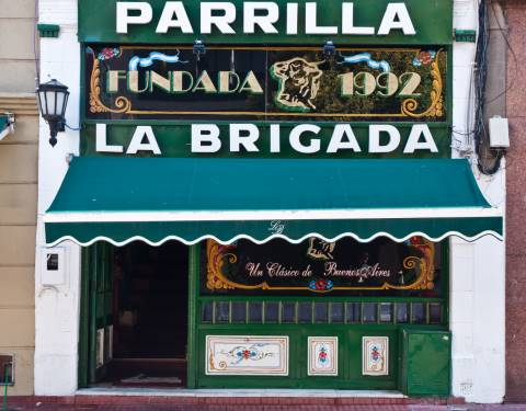 Restaurante La Brigada em Buenos Aires (Photo by Phillip Capper CC)